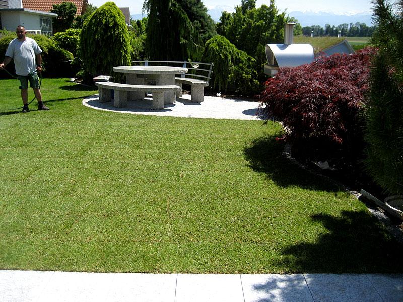 Gartensanierung EFH in Wetzikon