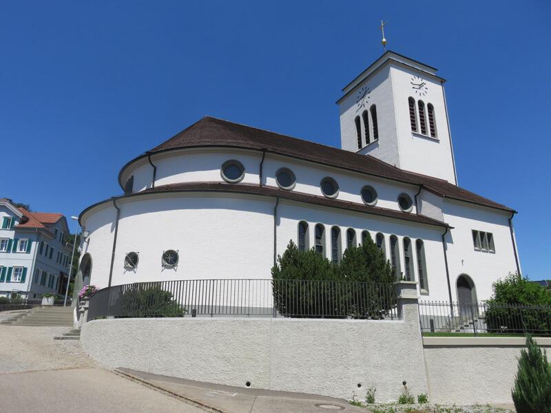 Aussensanierung katholische Kirche Gähwil