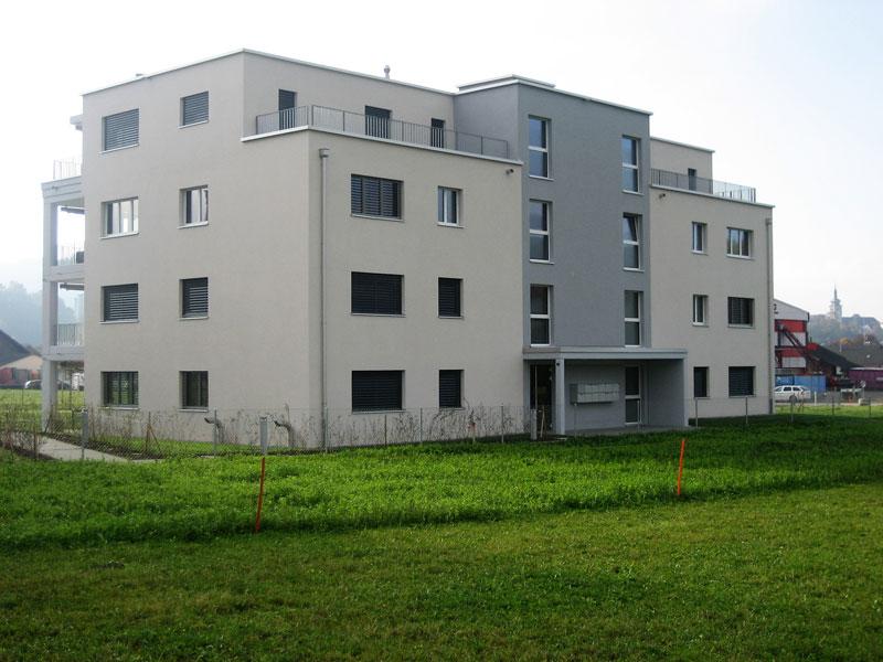 Wohnüberbauung Iifang im Sittipark in Sitterdorf